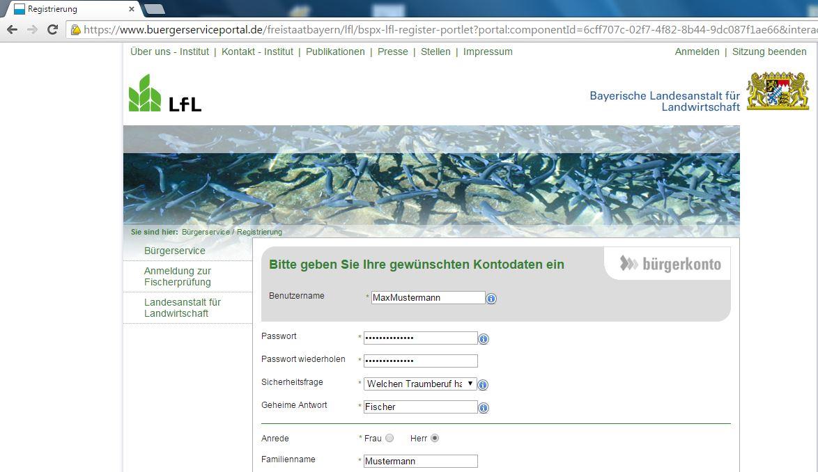 Online-Registrierung - Fischerpruefung-Hengersberg